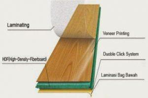lantai kayu laminate flooring