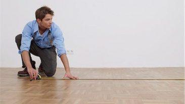 pengukuran lantai kayu
