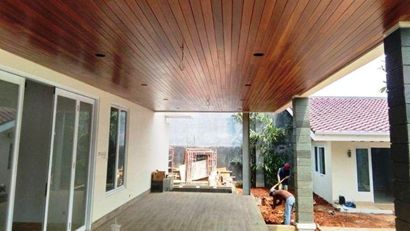 plafon kayu lumber ceiling