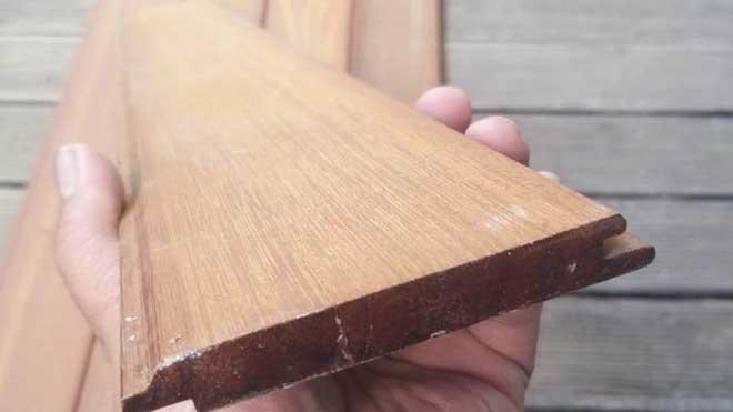 Lumberceiling kayu ulin